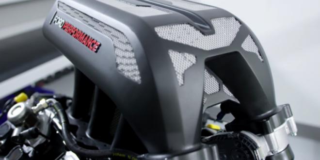 Ford instala, en el Hoonitruck de Ken Block, la pieza automotriz más grande por impresión metálica 3D