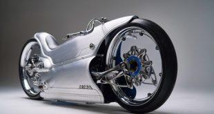 La motocicleta Fuller Moto 2029 combina a la perfección la impresión 3D y la tecnología tradicional