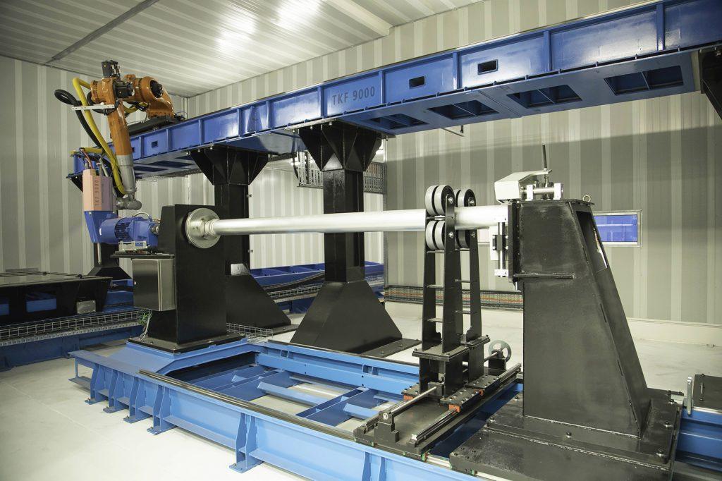 TKF 9000 metal 3D
