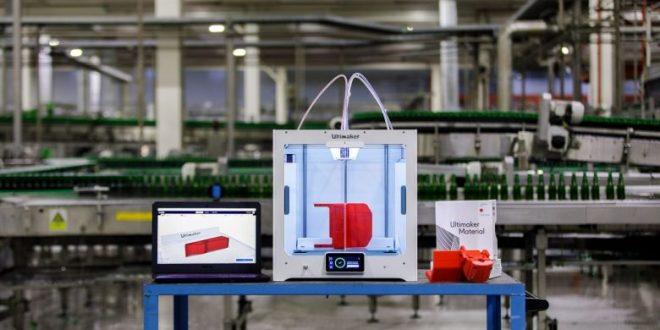 Heineken constata el éxito en el proyecto piloto de impresión 3D